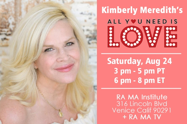 Kimberly Meredith-All You Need is Love - Healing & Music Event
