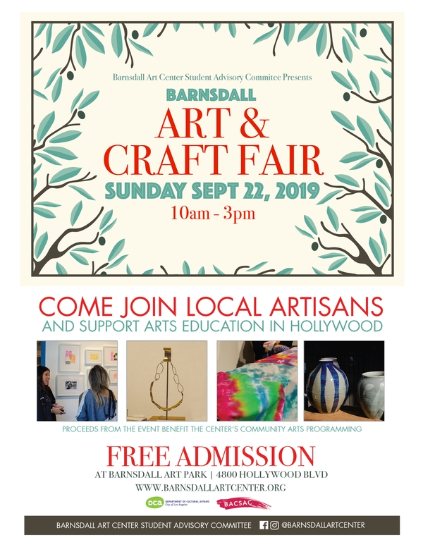 Barnsdall Art & Craft Fair - September 22