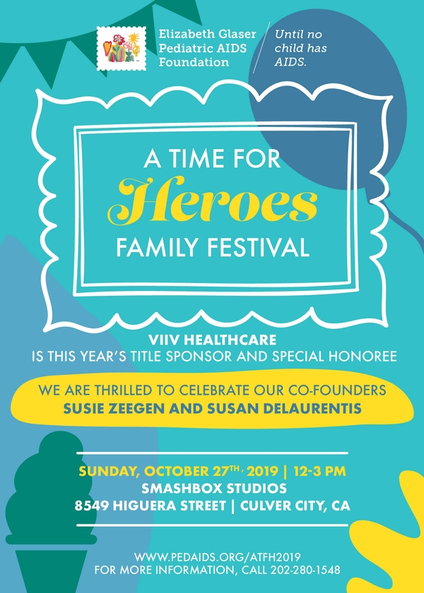 Elizabeth Glaser Pediatric AIDS Foundation's 30th Annual A Time for Heroes