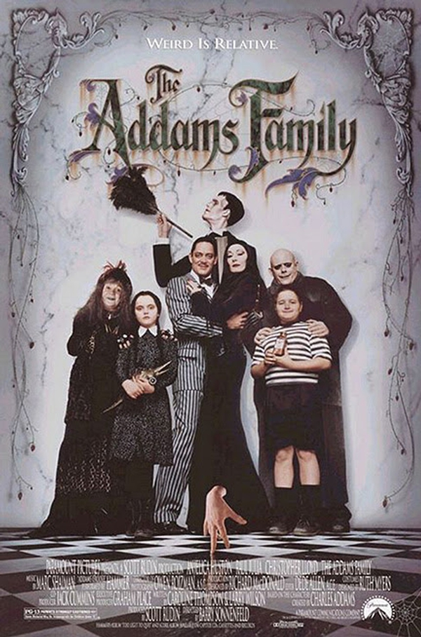Rooftop Screams - The Addams Family