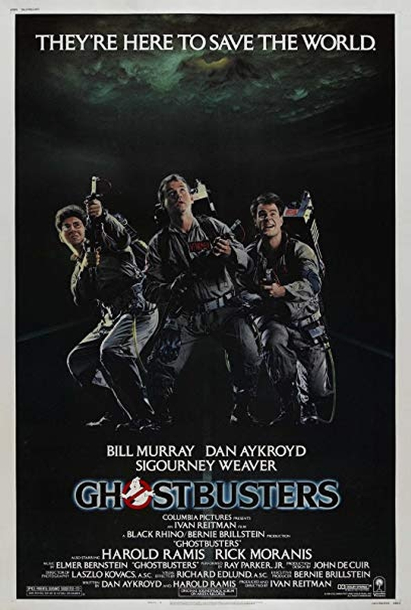 Rooftop Screams - Ghostbusters