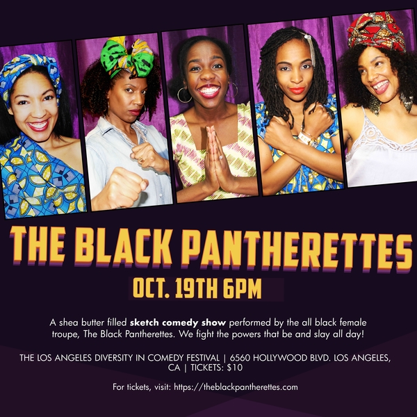 NYC'S The Black Pantherettes – Sketch Comedy