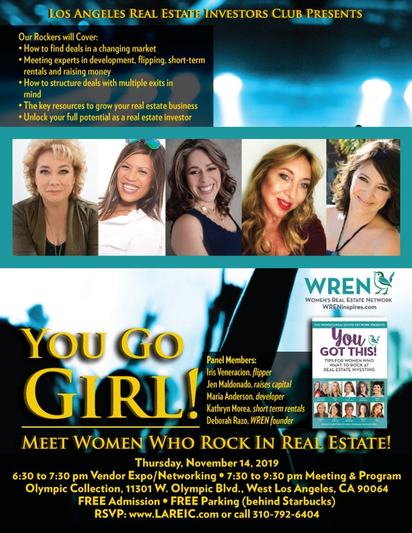 You Go Girl; Meet Women Who Rock in Real Estate!