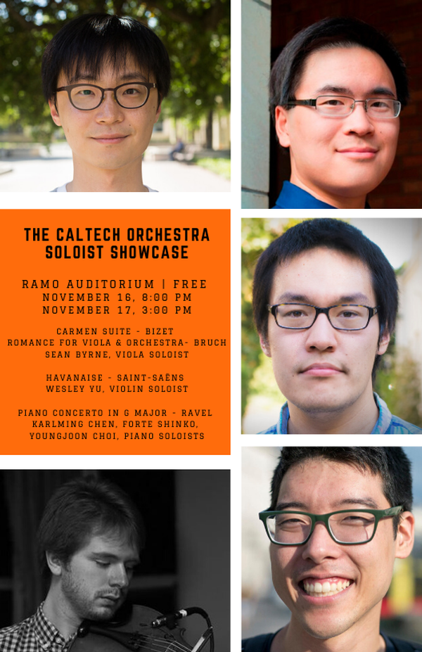 The Caltech Orchestra Features Student Soloists