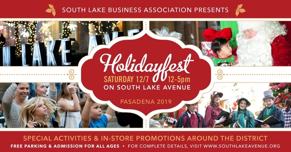 HolidayFest on South Lake Avenue