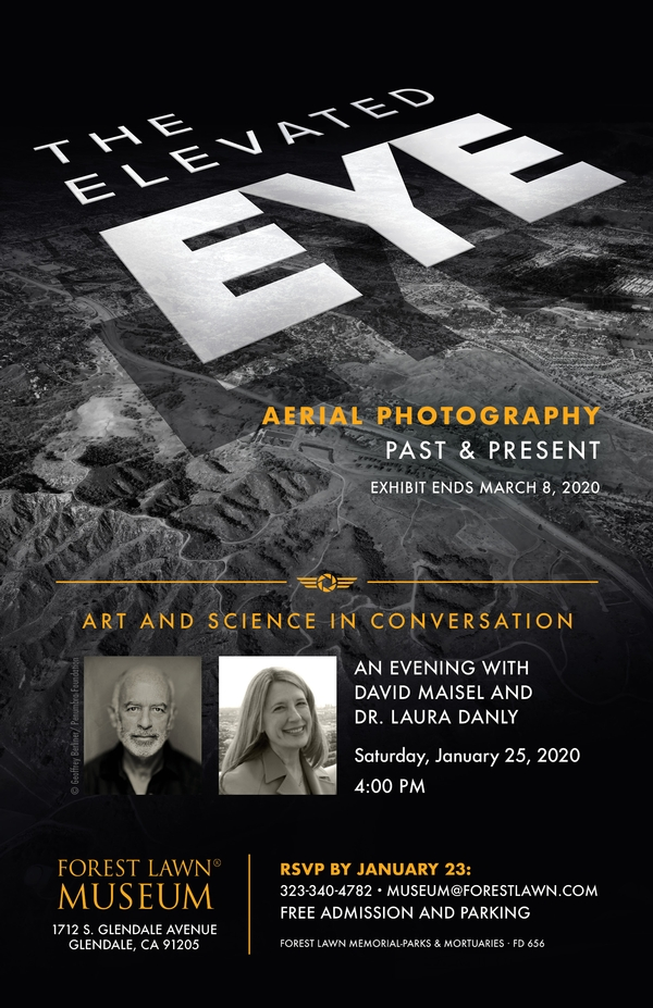 Art and Science in Conversation: An Evening with David Maisel and Dr. Laura Danly