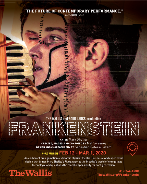 The Wallis and four Lark's Production of Frankenstein