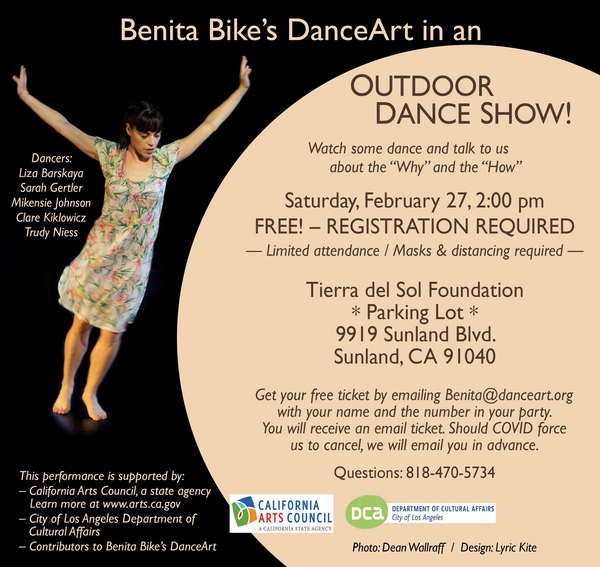 Benita Bike's DanceArt in Outdoor Show