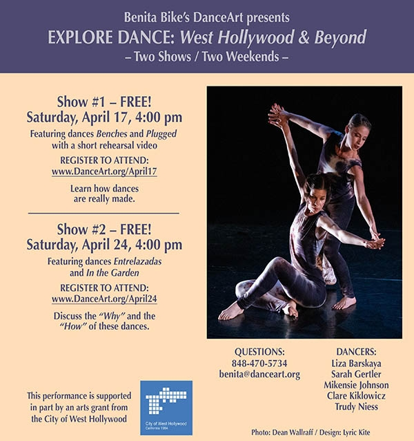 2 Shows! 2 Weekends! Explore Dance