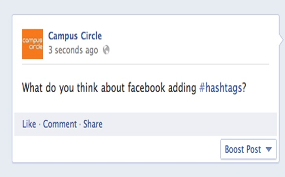 #Awesome: Hashtags Finally Arrive to Facebook