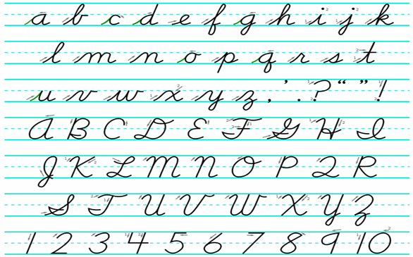Debate on whether cursive writing should still be taught