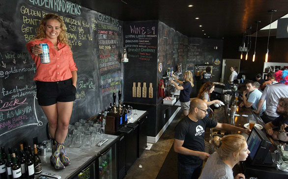 Youngest Woman to Head a Brewery is Taking the L.A. Craft Brand to New Heights