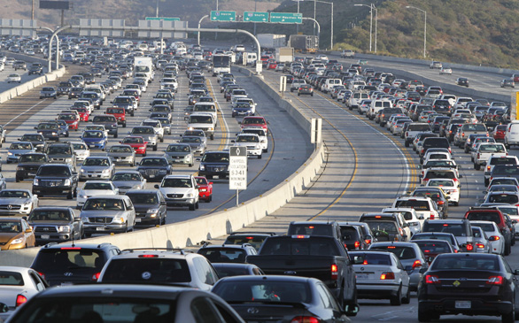 Los Angeles No Longer U.S.' Worst Traffic Area