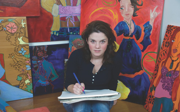 <i>Women Painters West Group Exhibit</i>