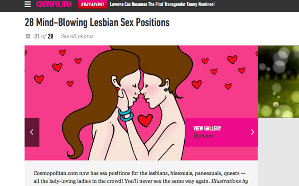 Cosmopolitan.com is Becoming More LGBTQ Inclusive—and We Love it!