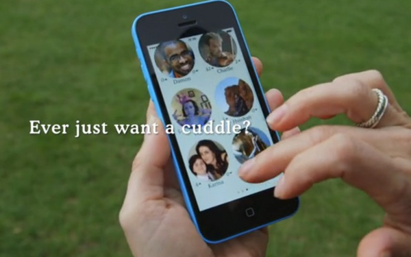 Interested in JUST Cuddling (Minus Sex)? Then Download Cuddlr