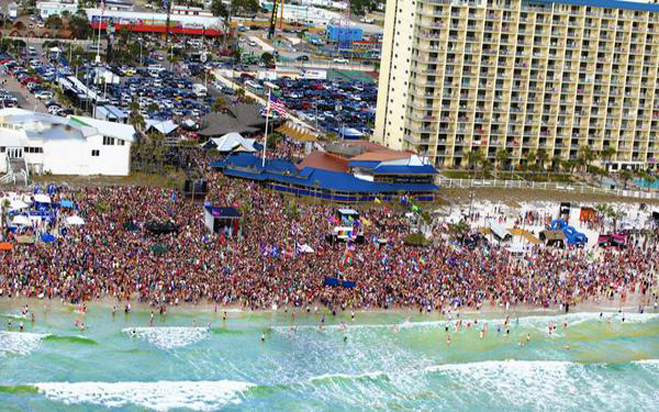 Hot party spots for spring break, from Florida to Iceland