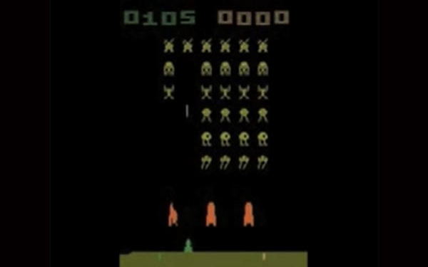 Is playing 'Space Invaders' a milestone in artificial intelligence?