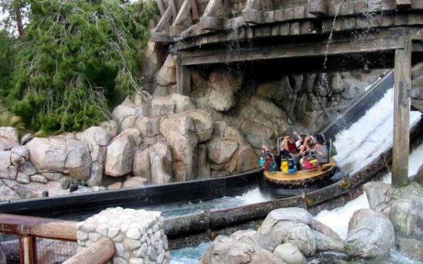 Top 25 theme park water rides in the U.S.