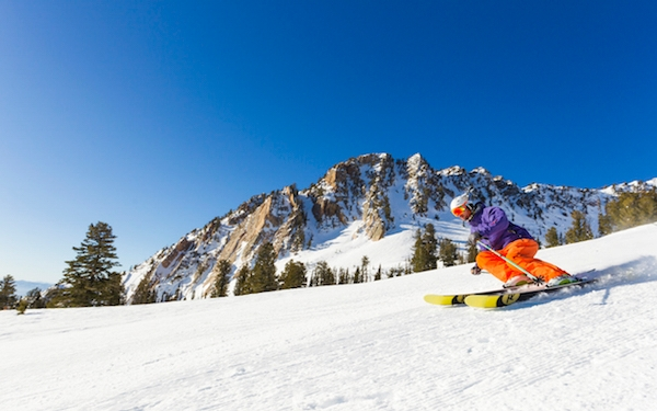 Ski Free at Snowbasin Resort with your Alaska Airlines Boarding Pass
