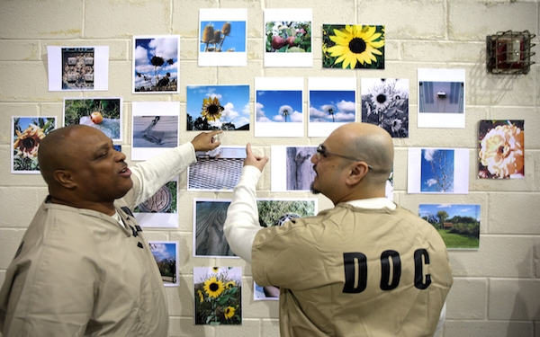 Photography class for jail inmates develops passion for art