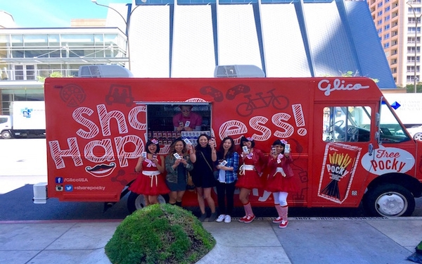 Pocky, sharing the love with Happiness Tour in L.A. to celebrate its 50th Anniversary.