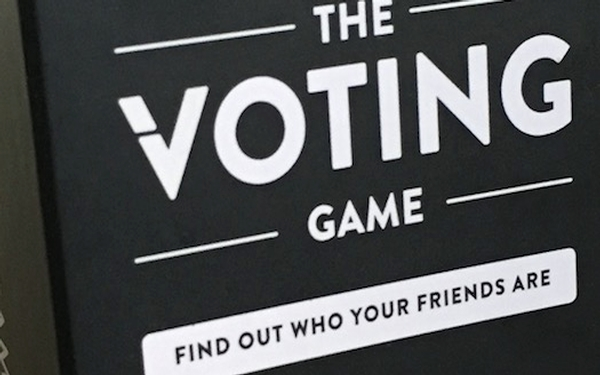 The Voting Game - Just in Time for the Election