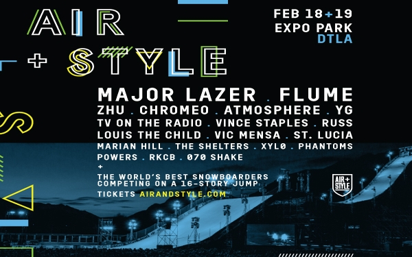 Air + Style Returns to Expo Park in DTLA on Feb. 18 and 19