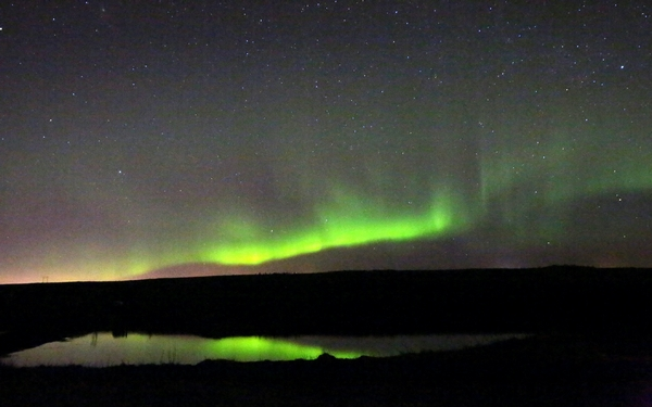 A trip to Iceland to chase the Northern Lights