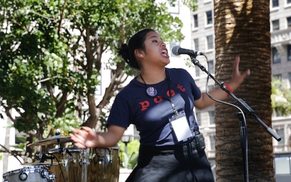 An LA high school poet finds her voice in an age of uncertainty