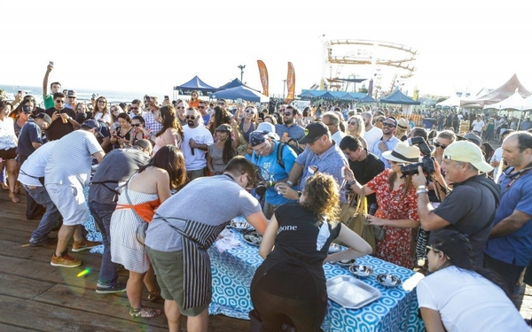Off The Hook Seafood Festival at the Santa Monica Pier on October 6th