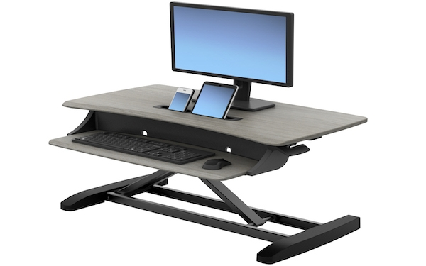 Ergotron WorkFit-Z Mini Sit-Stand Desktop Workstation