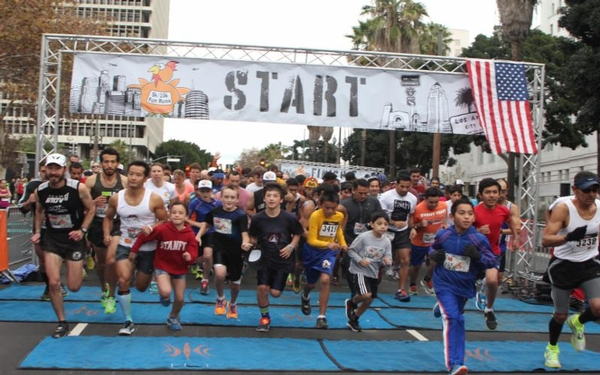 6th Annual Turkey Trot Los Angeles on Nov. 22 in DTLA