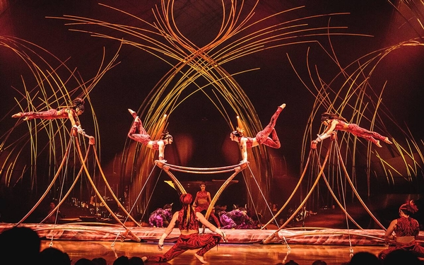 Cirque Du Soleil returns to Los Angeles with AMALUNA (April 25 thru May 26)