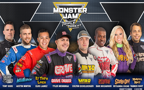 Monster Jam Triple Threat Series Returns To Staples Center (7/12 thru 7/14)