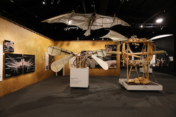 Leonardo da Vinci Exhibition at Reagan Presidential Library and Museum