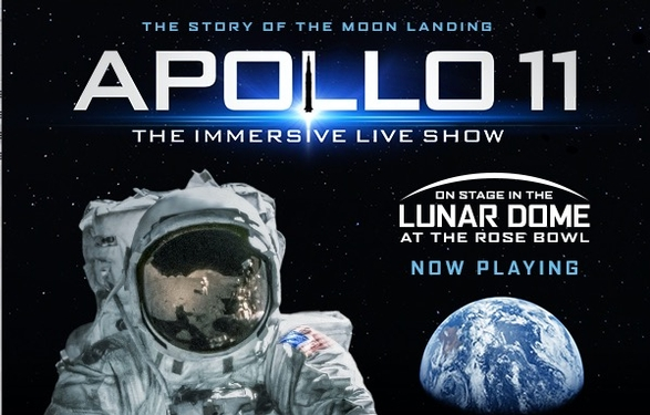 Apollo 11: The Immersive Live Show thru 8/11 - Special discount offer!