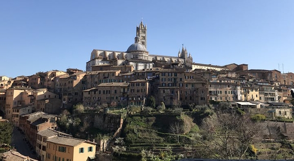 Best day trip from Florence, Italy: a bike trip to Siena