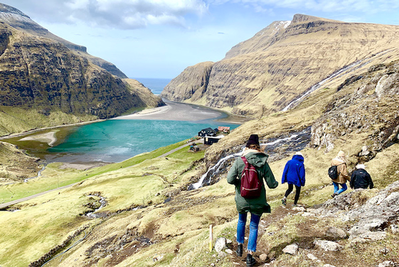 In the 'Land of 10,000 Waterfalls,' the Faroe Islands draw more visitors for the picturesque Nordic