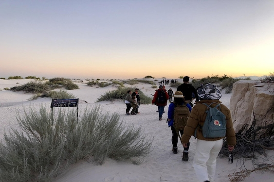 Get to know New Mexico's White Sands, the country's newest national park