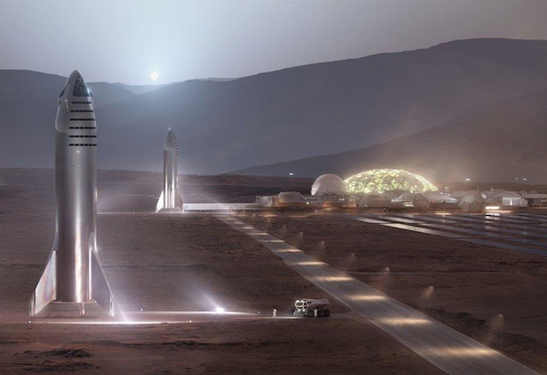SpaceX wants to build its Mars Starship at Port of LA — again