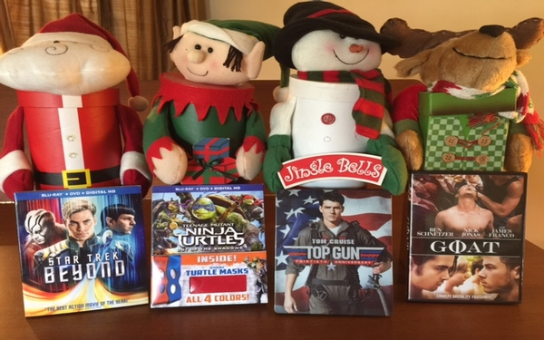 4 DVDs to watch with the family over the holidays