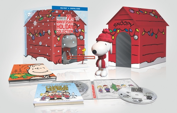 Peanuts 70th Anniversary Holiday Collection Limited Edition to street on October 1st