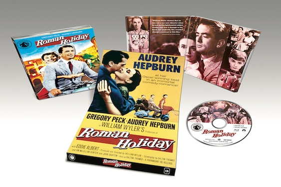 Newly Restored and Remastered, Roman Holiday Arrives on Blu-ray on Sept. 15