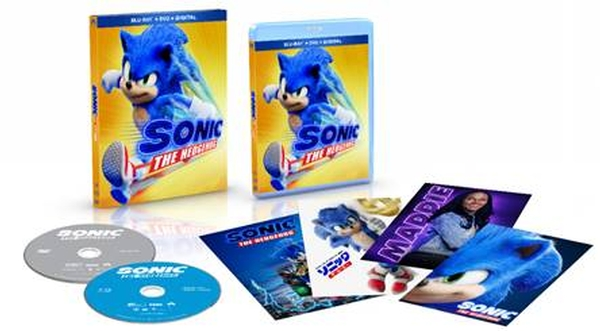 Sonic The Hedgehog - New Limited Collector's Edition Blu-Ray Combo Arrives on November 24