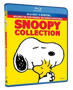 Bring Home the Peanuts Gang in 4 Feature-Length Films Together on Blu-ray for the First Time!