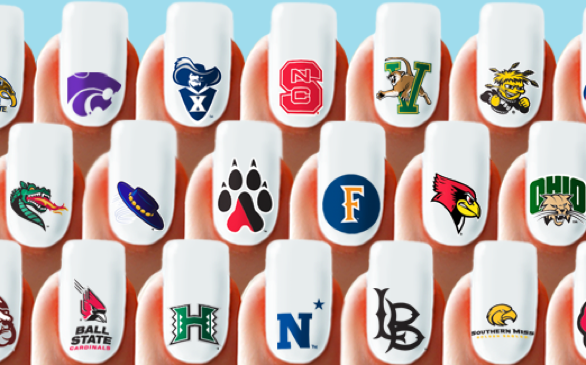 Show Your School Spirit with University Nail Pax