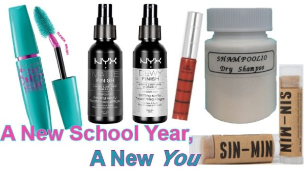 5 Hair & Makeup Back-to-School Must Haves for Every College Glamour Girl