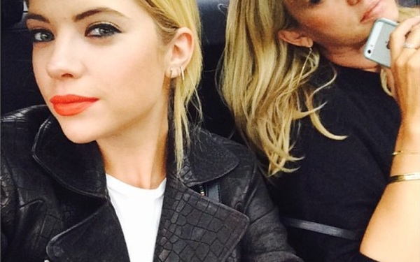 Fall Must-Have: Ashley Benson's Leather Jacket!