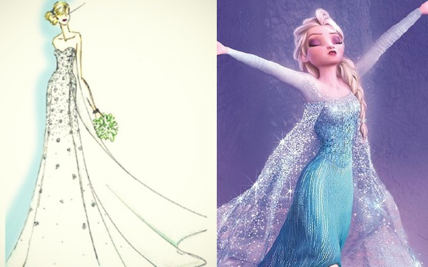Disney, Alfred Angelo Will Create <i>Frozen</i> Wedding Dress